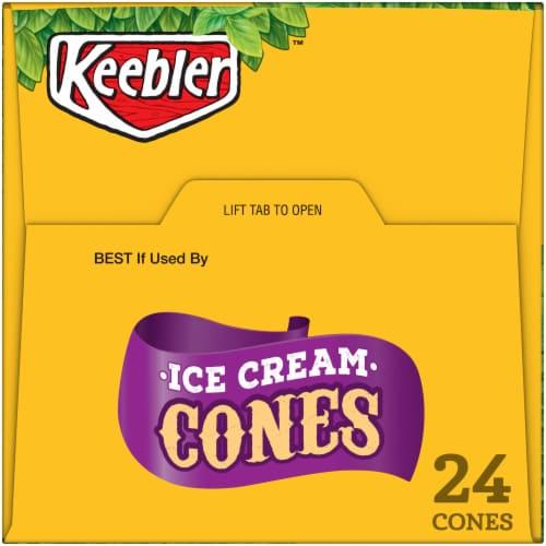 Keebler™ Ice Cream Cones Perspective: top