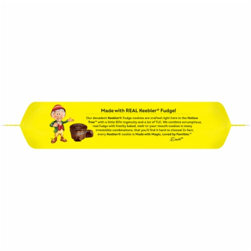 Keebler® Grasshopper® Mint & Fudge Cookies Perspective: top