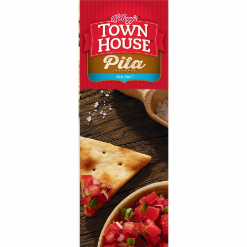 Town House Pita Crackers Sea Salt Perspective: top