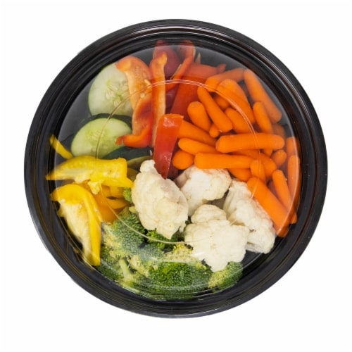 Taylor Farms Mixed Vegetable Bowl Perspective: top