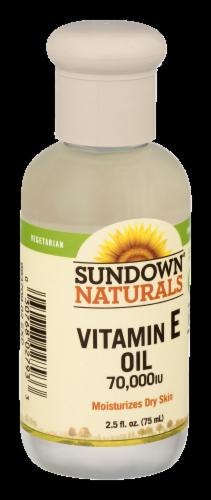 Sundown Naturals Vitamin E Oil 70000 IU Liquid Perspective: top