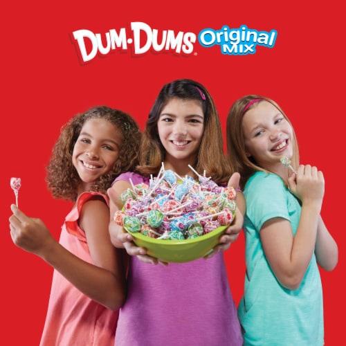 Dum Dums Original Assorted Flavor Lollipops Perspective: top