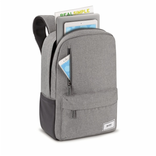 Solo Re:Cover Padded Backpack - Gray Perspective: top