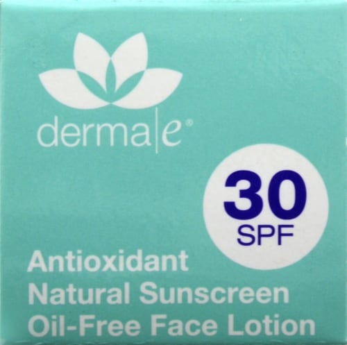 Derma-E Antioxidant Natural Sunscreen With Clear Zinc Oxide 30 SPF Perspective: top
