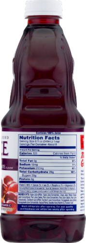 Ocean Spray 100% Cranberry Pomegranate Juice Perspective: top