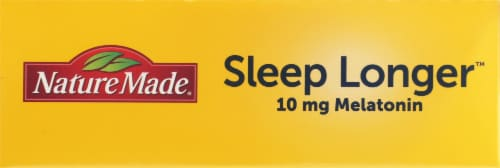 Nature Made Sleep Longer Max Strength Time Release Tablets Perspective: top