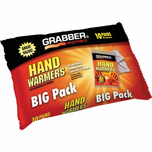 Grabber® Disposable Hand Warmer Big Pack Perspective: top