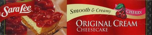 Sara Lee Classic Cherry Cheesecake Perspective: top