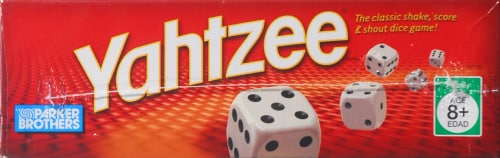 Hasbro Yahtzee Game Perspective: top