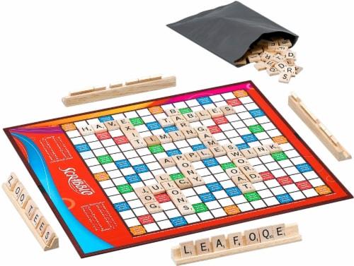 Hasbro Scrabble Game Perspective: top