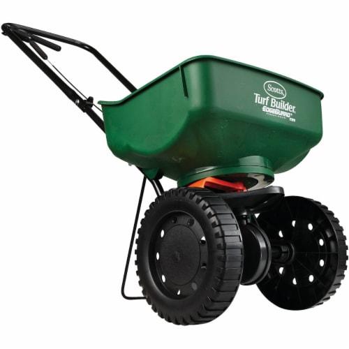 Scotts® Turf Builder EdgeGuard Mini Spreader - Green Perspective: top