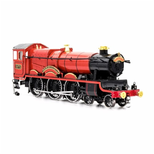 Fascinations Harry Potter Hogwarts Express Train 3D Metal Model Kit Perspective: top