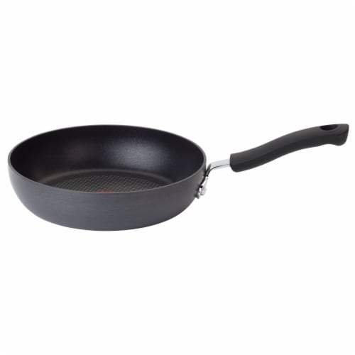 T-Fal Ultimate Hard Anodized Black Saute Pan Perspective: top