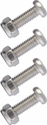Cruiser Accessories Universal Stainless Steel Fasteners Perspective: top