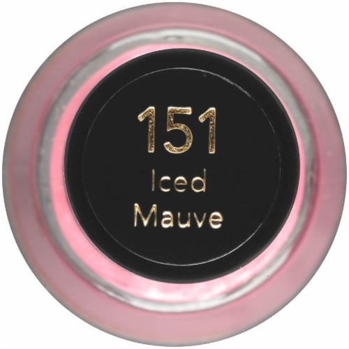 Revlon 151 Iced Mauve Nail Polish Perspective: top