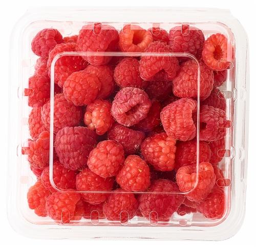 Red Raspberries Perspective: top
