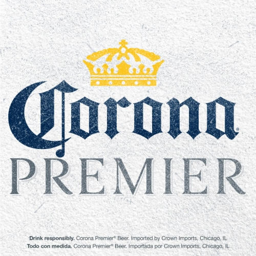 Corona Premier Mexican Lager Beer Perspective: top