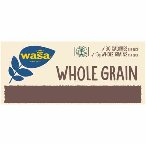 Wasa Whole Grain Crispbread Crackers Perspective: top