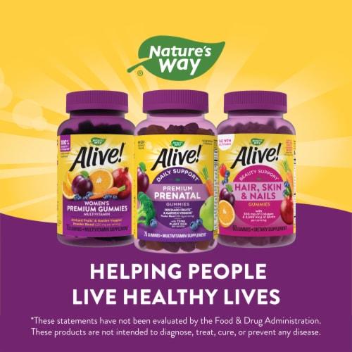 Nature's Way Alive! Prenatal Multi-Vitamin Supplement Gummies Perspective: top