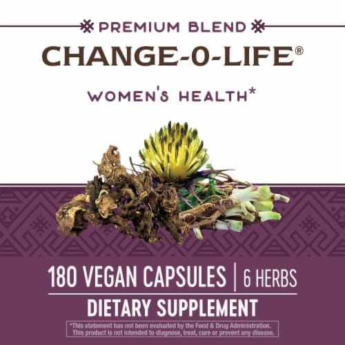 Nature's Way® Change-O-Life 7 Herb Blend Supplement Capsules 440mg Perspective: top