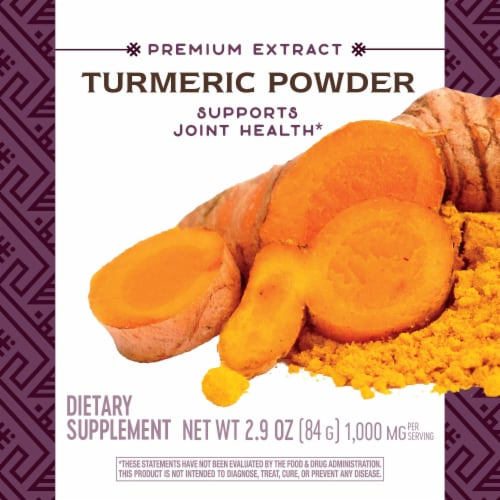 Nature's Way Turmeric Powder Perspective: top