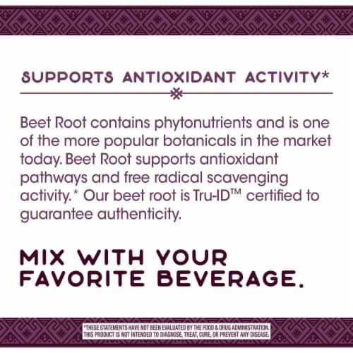 Nature's Way Beet Root Powder Perspective: top