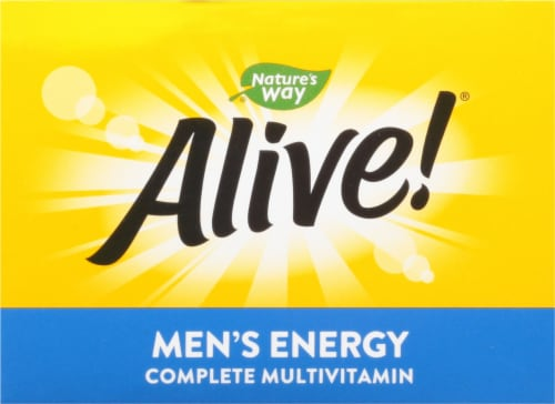 Nature's Way® Alive!® Mens Energy Complete Multivitamin Perspective: top