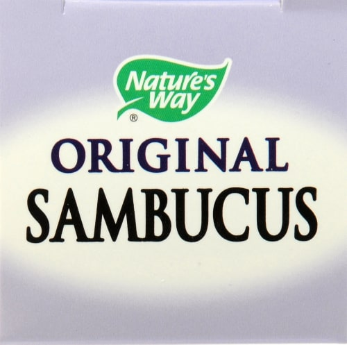 Nature's Way Sambucus Elderberry Lozenges Perspective: top