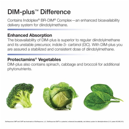 Nature's Way Dim-Plus Estrogen Metabolism Formula Capsules Perspective: top
