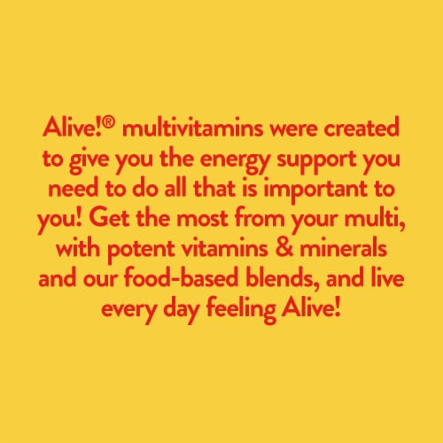 Nature's Way Alive! Whole Food Energizer Capsules Perspective: top