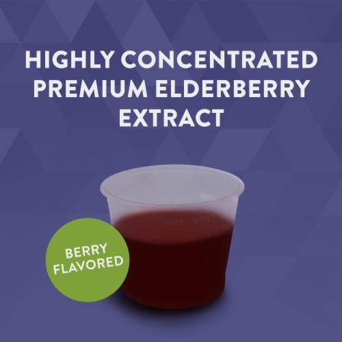 Nature's Way Sambucus Standardized Elderberry Original Dietary Supplement Syrup Perspective: top