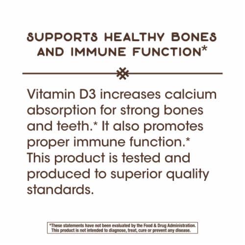 Nature's Way Vitamin D3 Softgels 50mcg Perspective: top