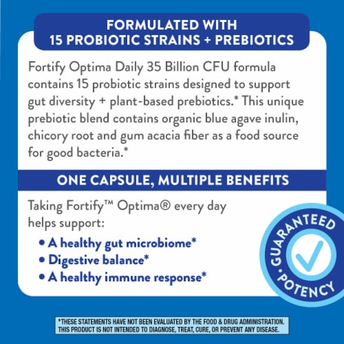Nature's Way Primadophilus Optima Capsules Perspective: top