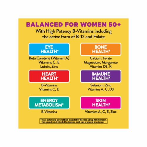 Nature's Way Alive! Once Daily Women's 50+ Ultra Potency Tablets Perspective: top