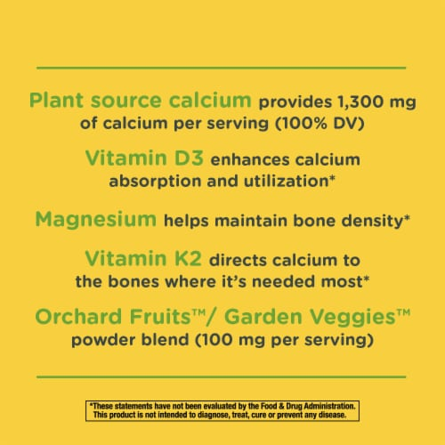 Nature's Way Alive! Calcium Bone Formula Max Absorption Tablets Perspective: top