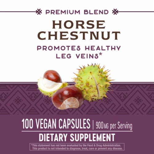 Nature's Way Horse Chestnut Standardized Capsules Perspective: top