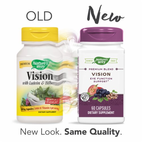 Nature's Way Vision Capsules Perspective: top