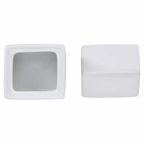BIA Cordon Bleu Porcelain Milk Carton Creamer and Sugar Set - White Perspective: top