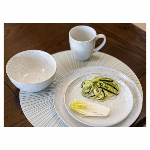 BIA Cordon Bleu Serene Salad/Dessert Plate - Crème Perspective: top