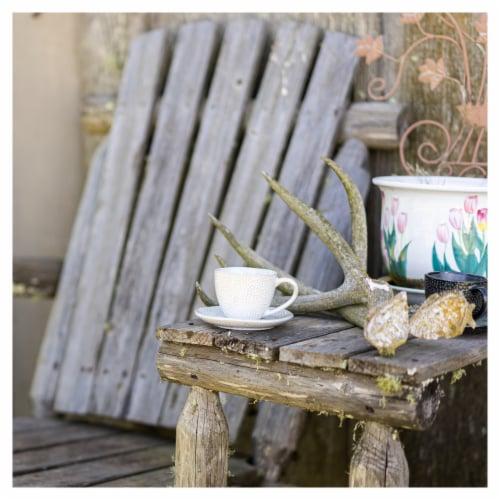 BIA Cordon Bleu Serene Demitasse Cup and Saucer Set - Crème Perspective: top