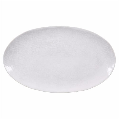 BIA Cordon Bleu Serene Oval Serve Platter - Crème Perspective: top