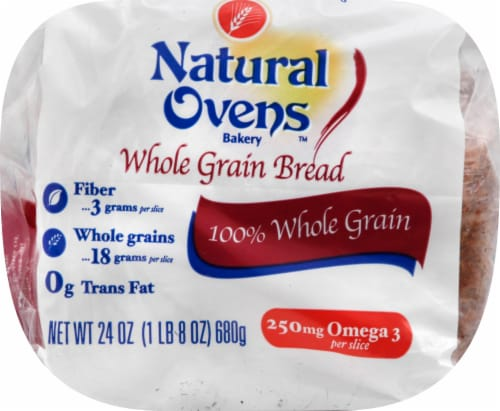 Natural Ovens Whole Grain Bread Perspective: top