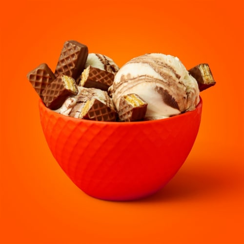 Reese's STICKS Milk Chocolate Peanut Butter & Crispy Wafer Candy Bar Perspective: top