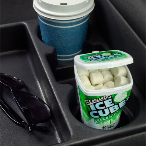 Ice Breakers Ice Cubes Spearmint Sugar Free Gum Perspective: top