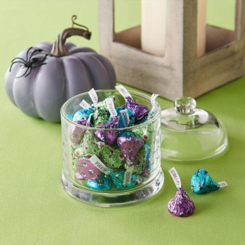 Hershey's Milk Chocolate Kisses Monster Halloween Candy Perspective: top