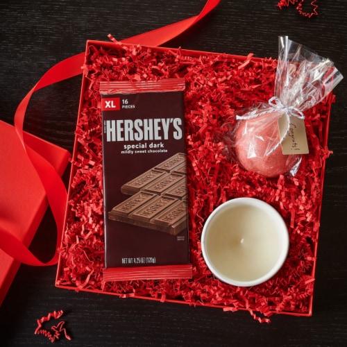 Hershey's Special Dark Chocolate Bar Perspective: top