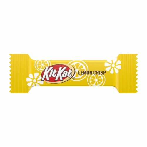 Kit Kat Lemon Crisp Miniature Wafers Perspective: top