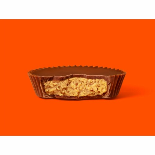 Reese's Milk Chocolate Peanut Butter Cups Snack Size Perspective: top