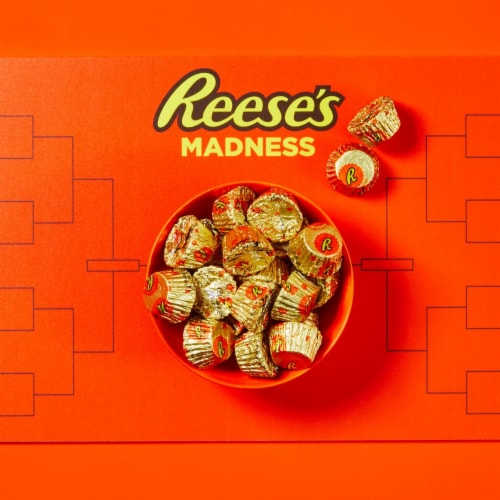 Reese's Miniature Milk Chocolate Peanut Butter Cups Candy Share Pack Perspective: top