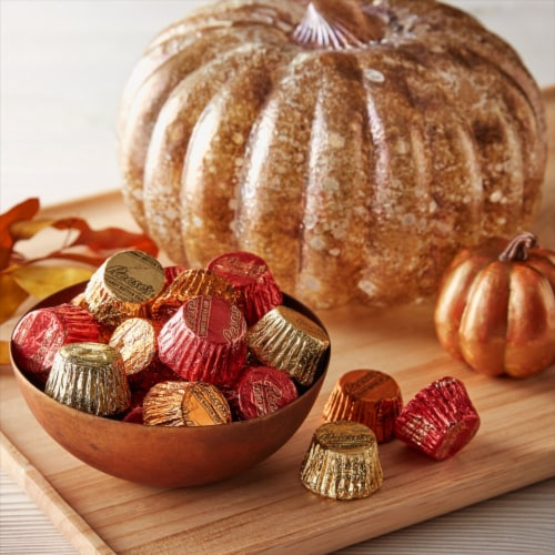 Reese's Fall Harvest Miniature Peanut Butter Cups Perspective: top